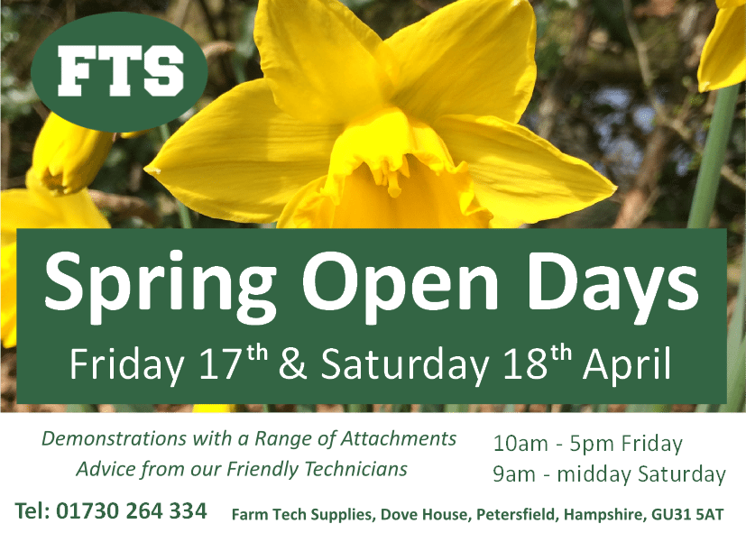 Spring Open Day Advert