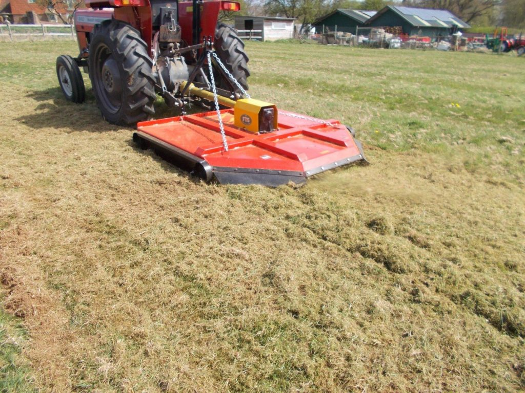 OPEN DAY TOPPER MOWER TM180H