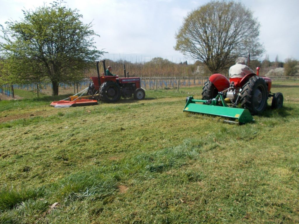 OPEN DAY TOPPER MOWER TM180H + FLAIL MOWER G-EFG175