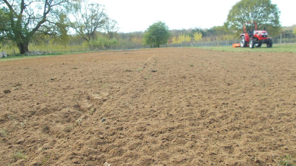 re-seeding the paddock part 1