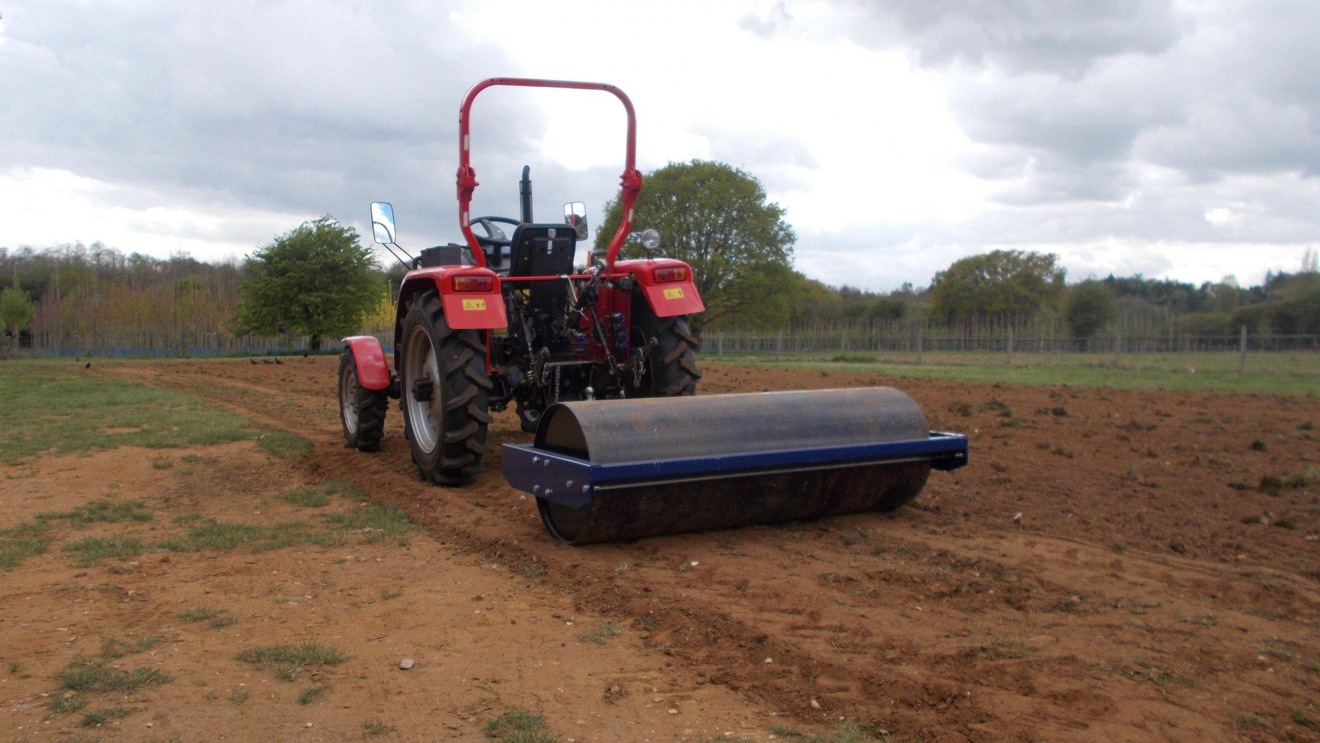 RollerGrassRe seeding