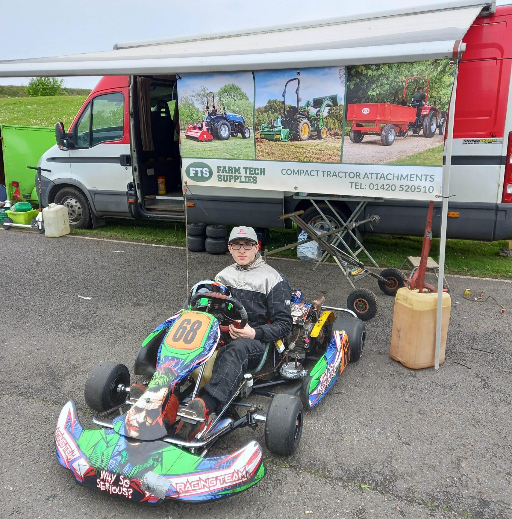 Why So Serious Go-Kart Race Team